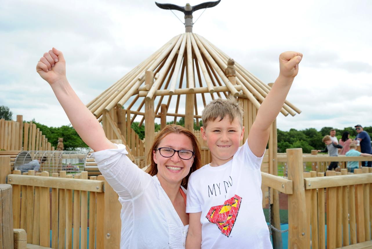 Crannog play area