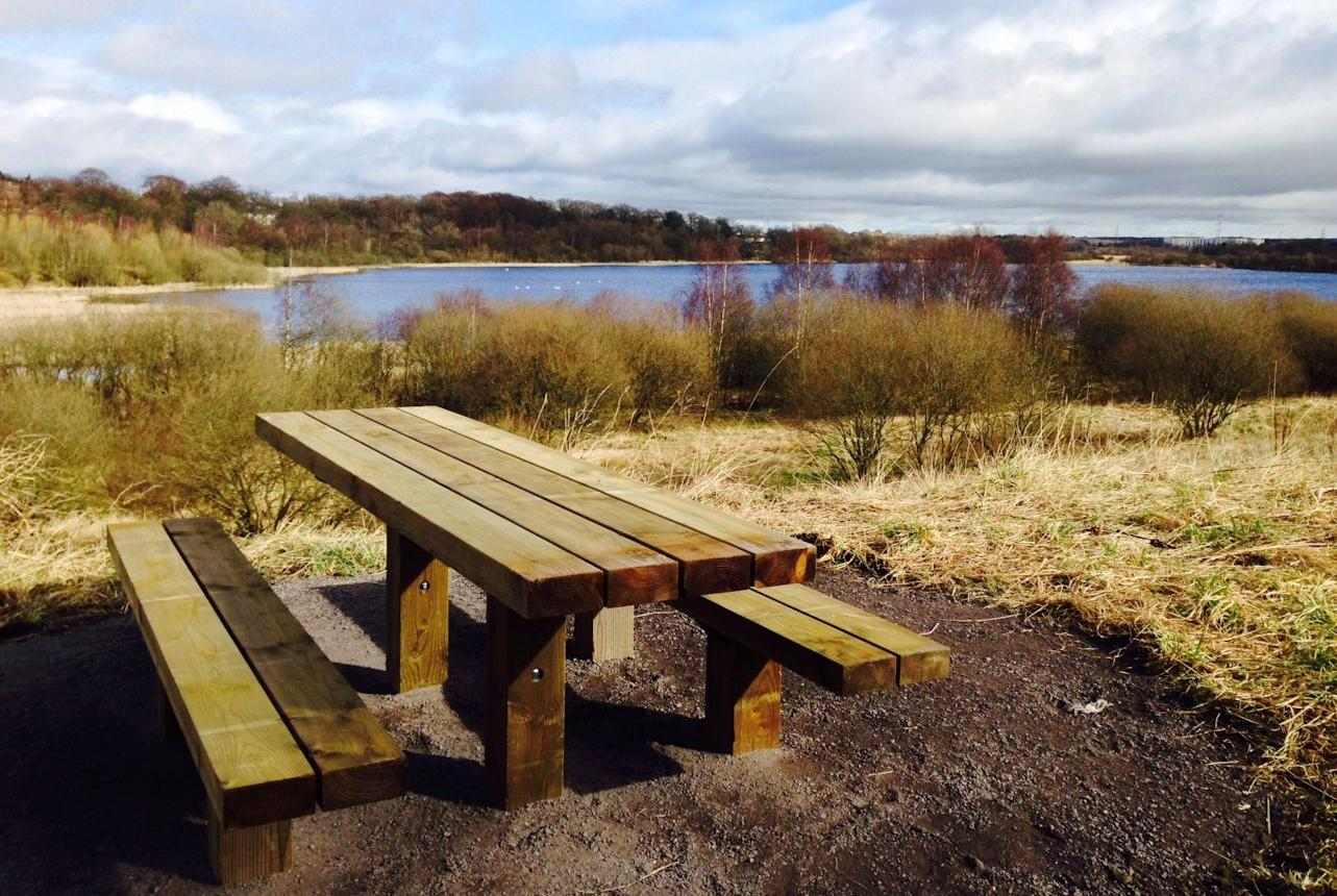 Bishop Loch picnic bench